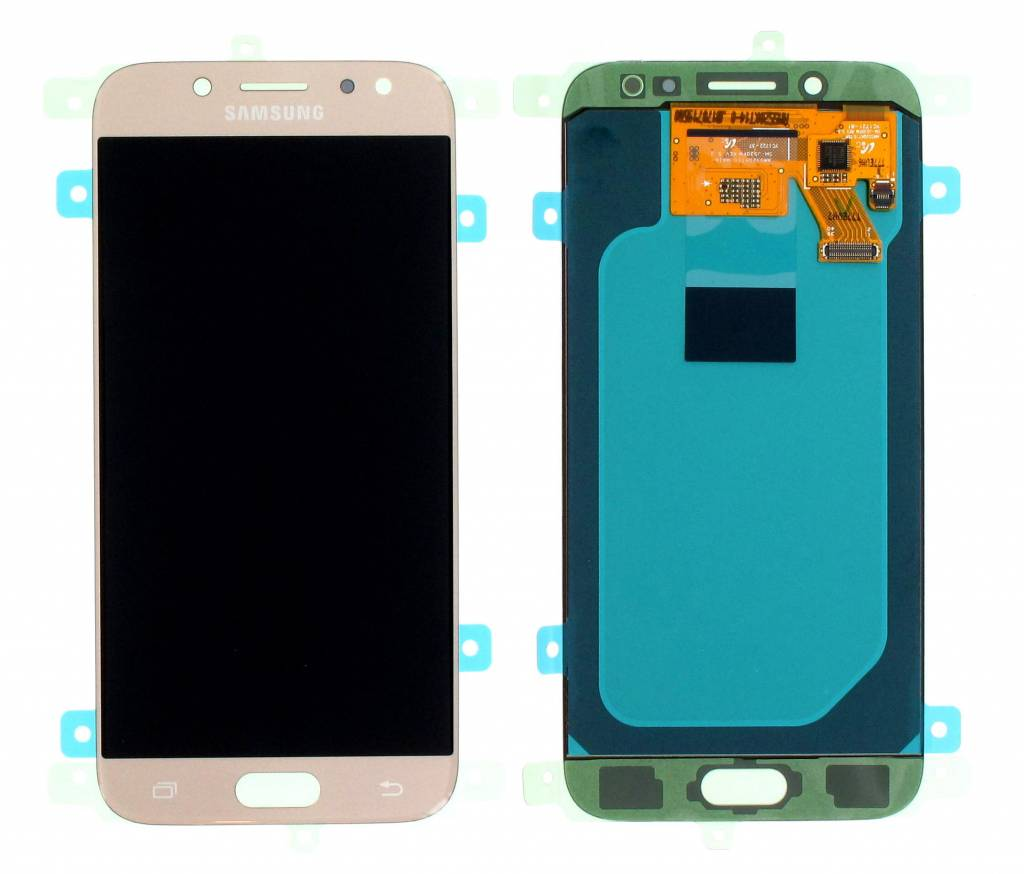 Samsung J530F Galaxy J5 2017 LCD Display Module, Gold, GH97-20738C;GH97-20880C