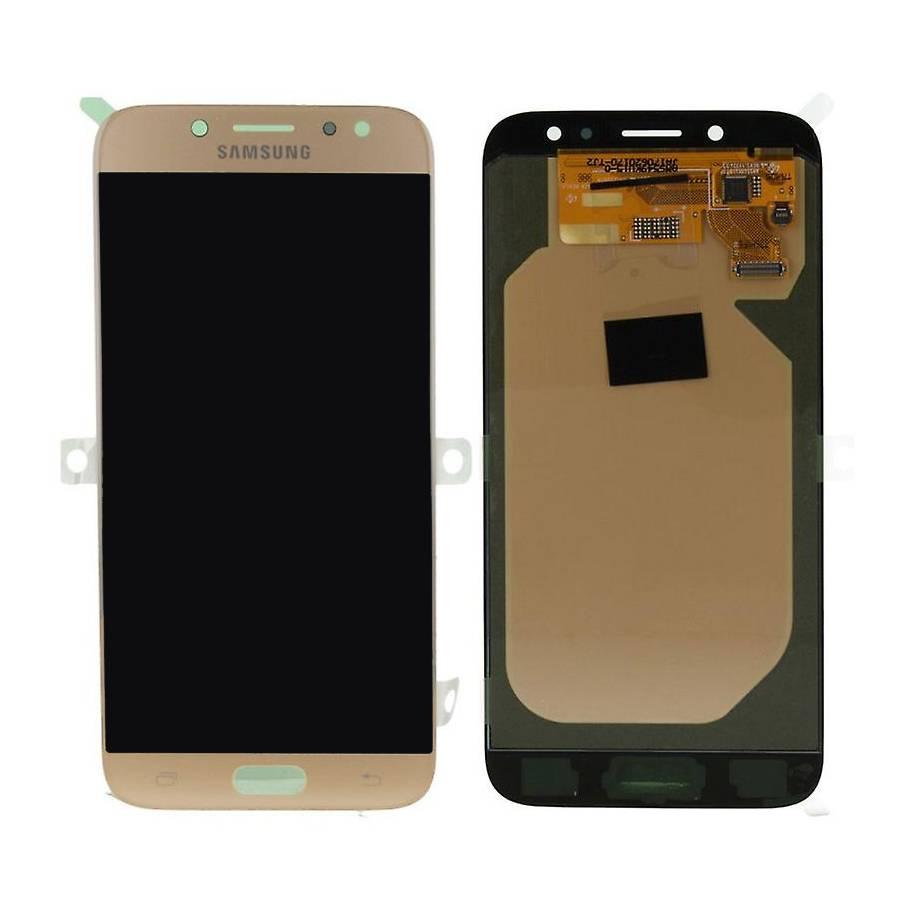 Samsung J730F Galaxy J7 2017 LCD Display Module, Gold, GH97-20736C;GH97-20801C