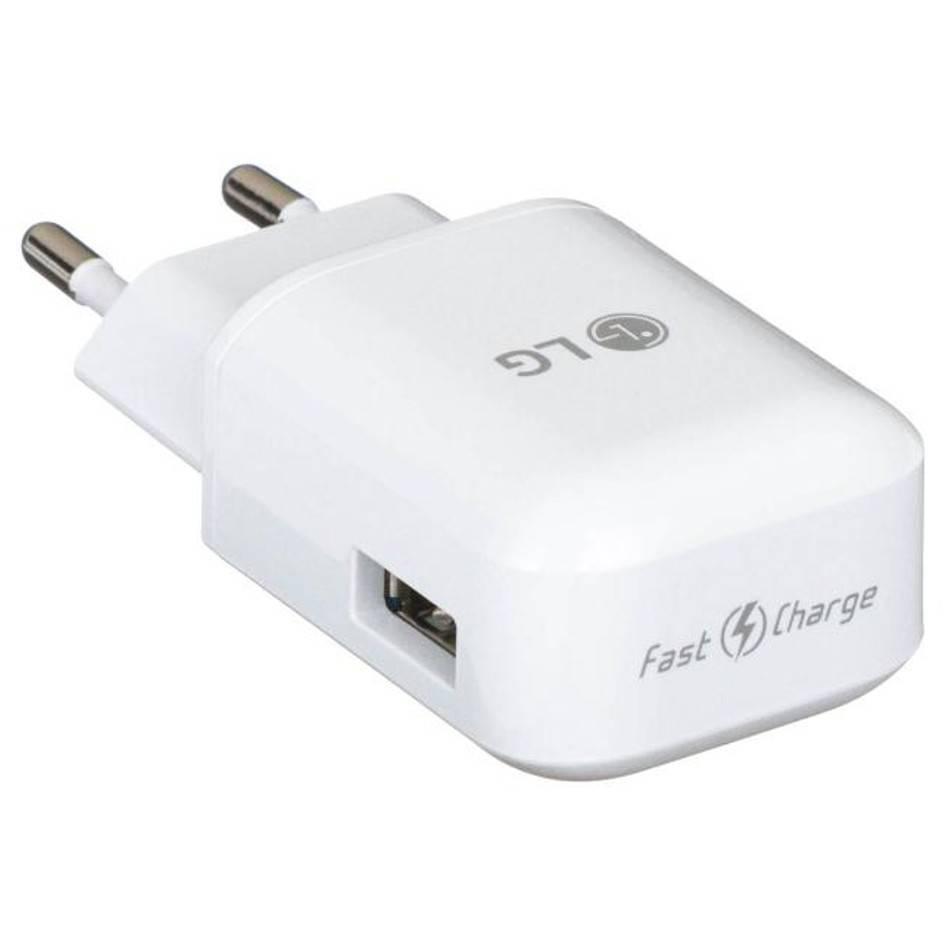 LG USB-Ladegerät, MCS-H06ED, Weiß, 9.0V, 1.8A Or 5.0V, 1.8A ...