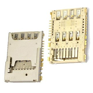 LG Sim Card Reader G3 D855, incl. MicroSD Reader Connector, EAG63310801