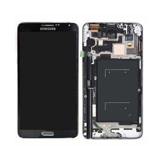 Samsung Galaxy Note III / Note 3 N9005 LCD Display Module, Black, GH97-15209A; GH97-15107A