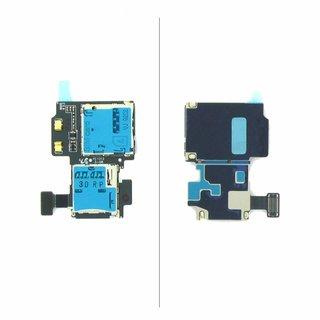 Samsung Galaxy SIV S4 i9505 Simkaart MicroSD connector Flex Kabel GH59-13278A