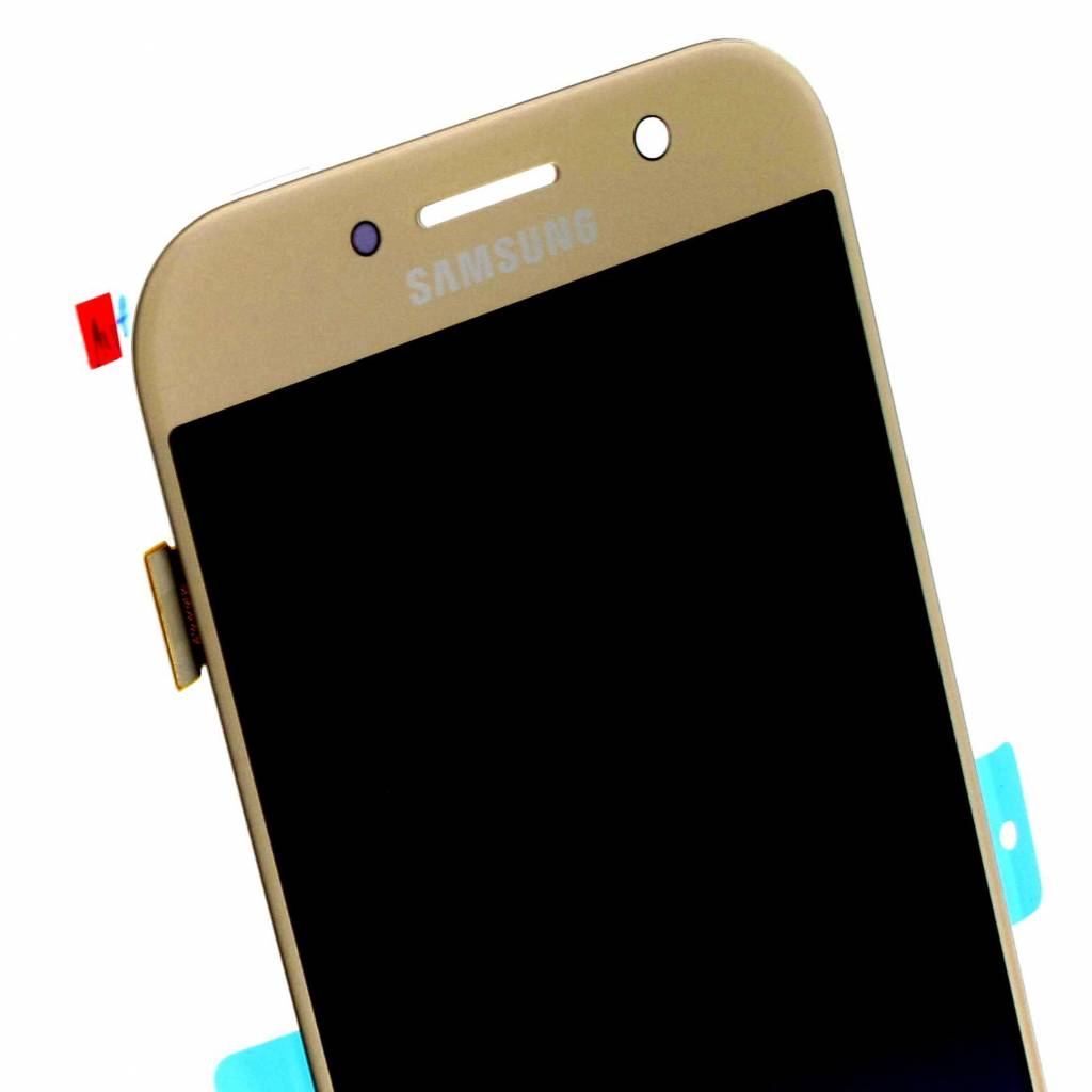 Samsung A520F Galaxy A5 2017 LCD Display Module, Gold, GH97-19733B