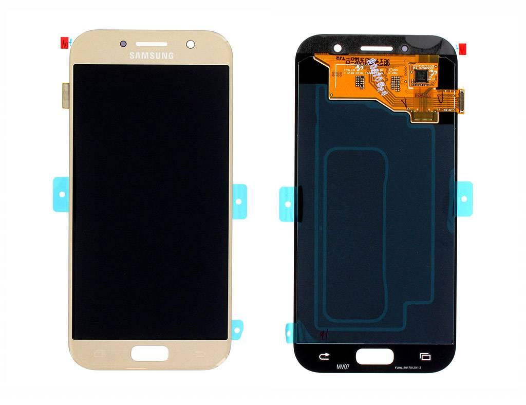 Samsung LCD Display Modul A520F Galaxy A5 2017, Gold, GH97-19733B;GH97-20135B