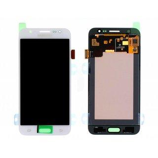 Samsung J500F Galaxy J5 LCD Display Modul, Weiß, GH97-17667A