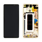 Samsung N950F Galaxy Note 8 LCD Display Modul + Touch Bildschirm + Rahmen, Gold, GH97-21065D