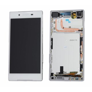 Sony Xperia Z5 E6653 LCD Display Modul, Weiß, 1296-1894