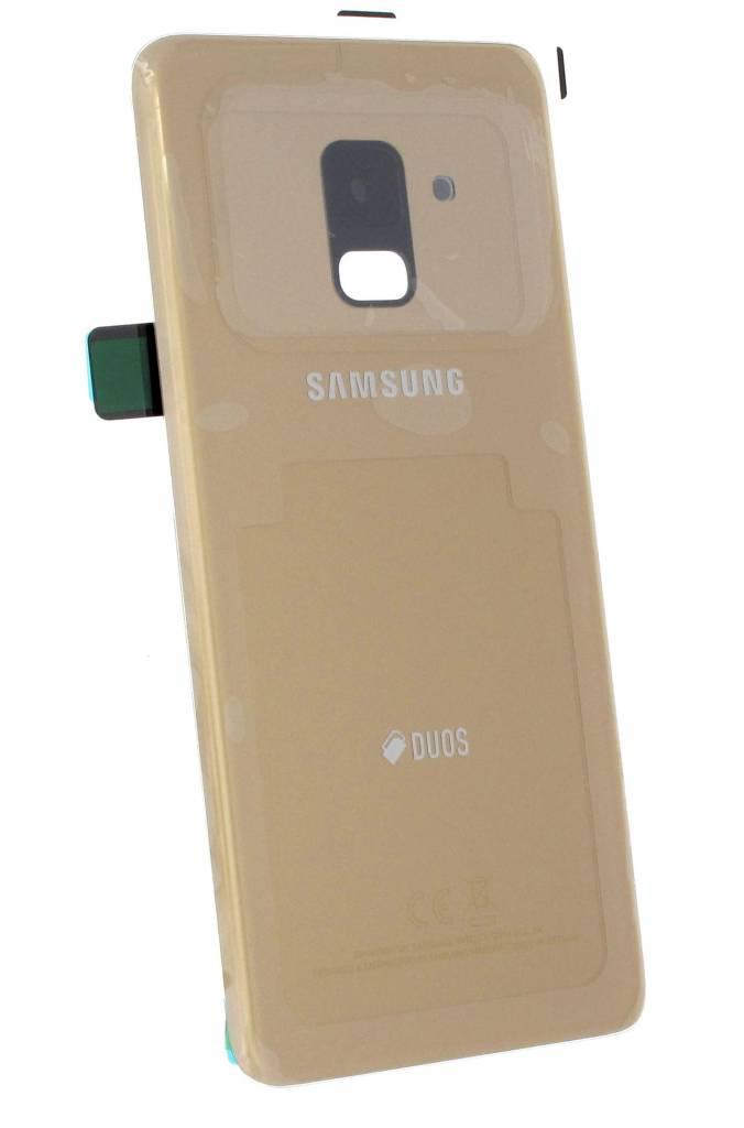 Samsung A530f Ds Galaxy A8 2018 Duos Akkudeckel Gold Gh82 15557c