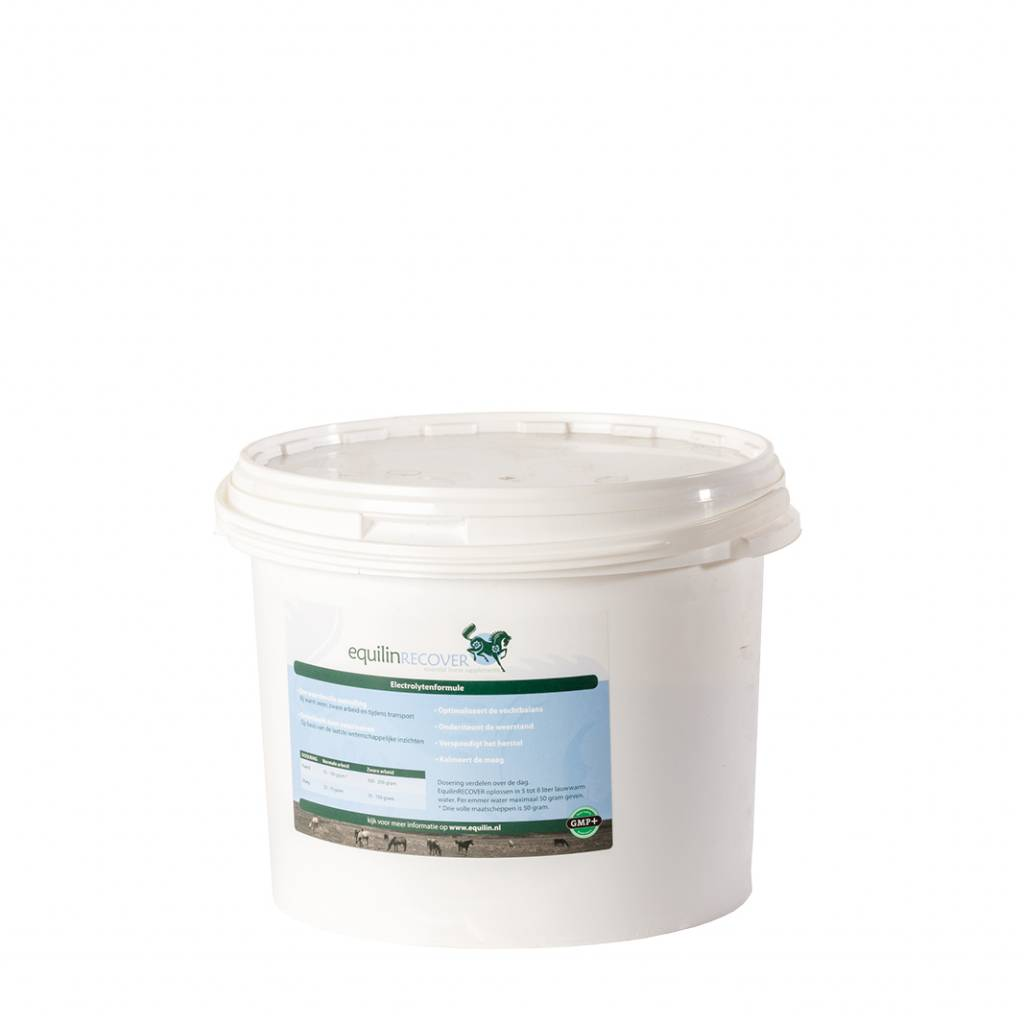 EquilinRECOVER, electrolyte drink in bucket 4 kg