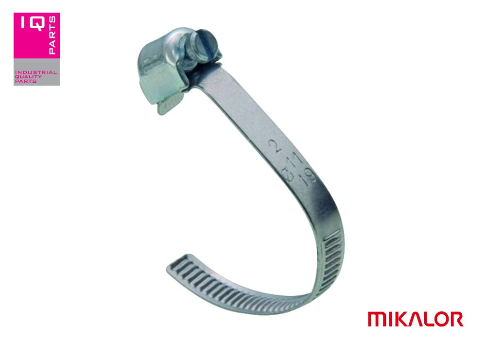 Open wormshroefklem clip W2 - 5 mm