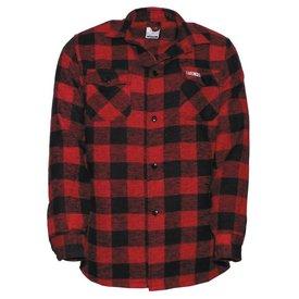 Lumberjack houthakkersblouse zwart / rood