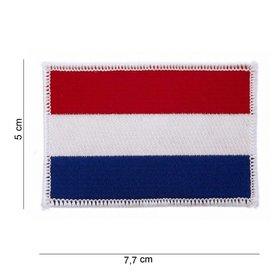 Nederlandse vlag Embleem 5x 7,7