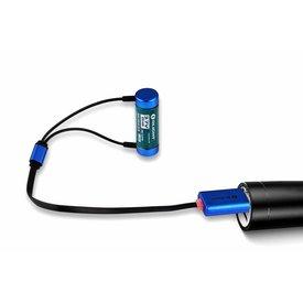 Olight Universele lader (kabel) voor oplaadbare accu's