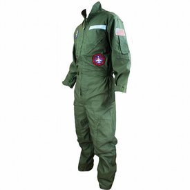 Air Force Pilotenoverall met patches