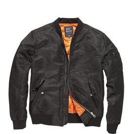 Vintage Industries Welder Zomer bomberjacket Black