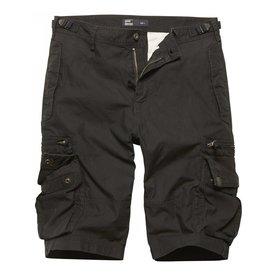 Vintage Industries Gandor short ZWART Korte broek (met ritsen)