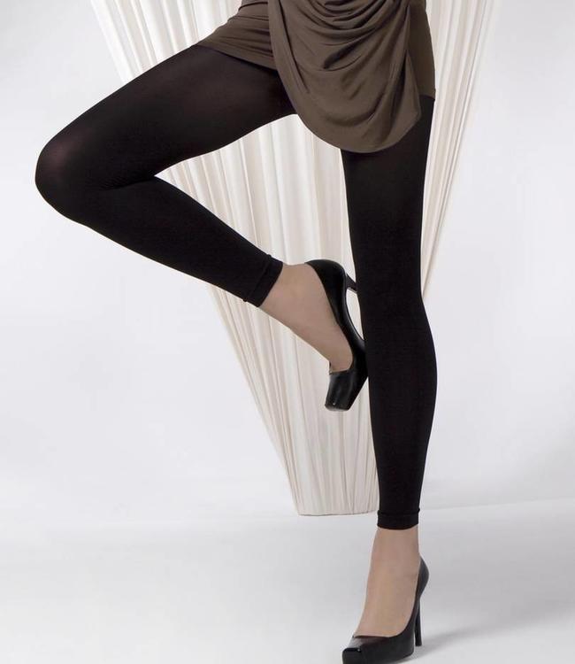 Gabriella Lena 40 zwarte matte enkellegging