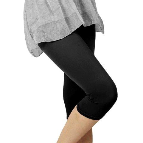 Lena 40 Capri legging Zwart