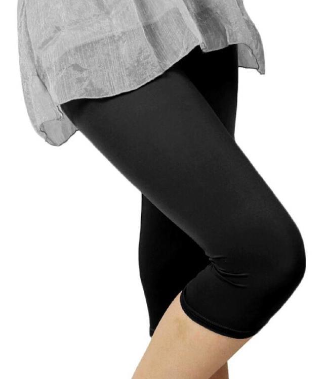 Gabriella Lena 40 zwarte matte Capri legging