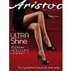Ultra Shine 10 hold ups Zwart