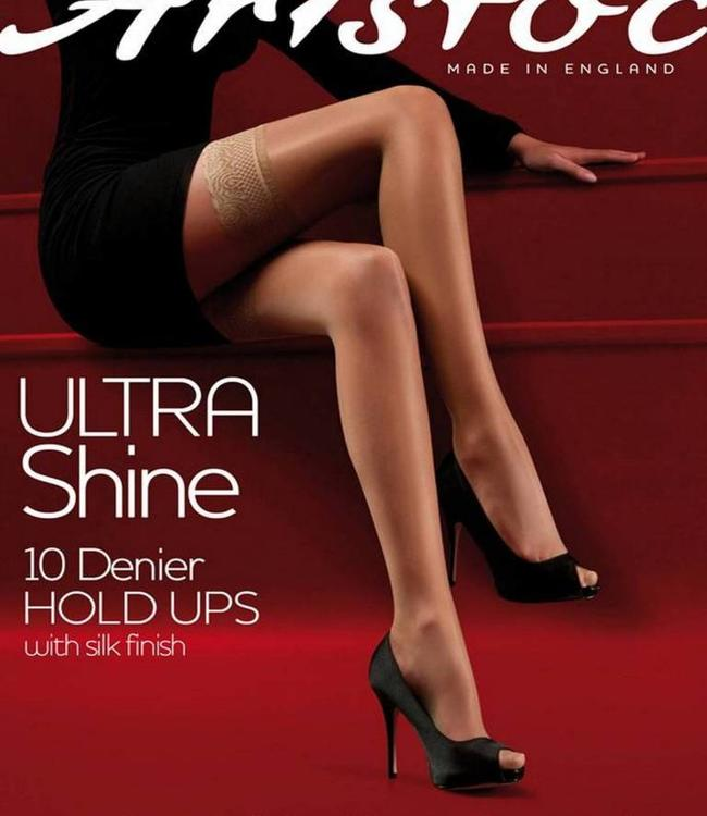 Aristoc Ultra Shine 10 hold ups Huidskleur