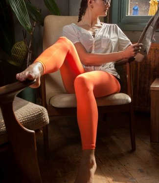 Apollo Colour Block 60 legging Oranje