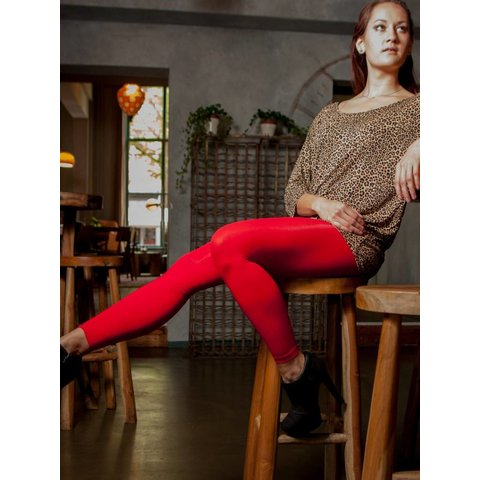 Colour Block 60 legging Rood