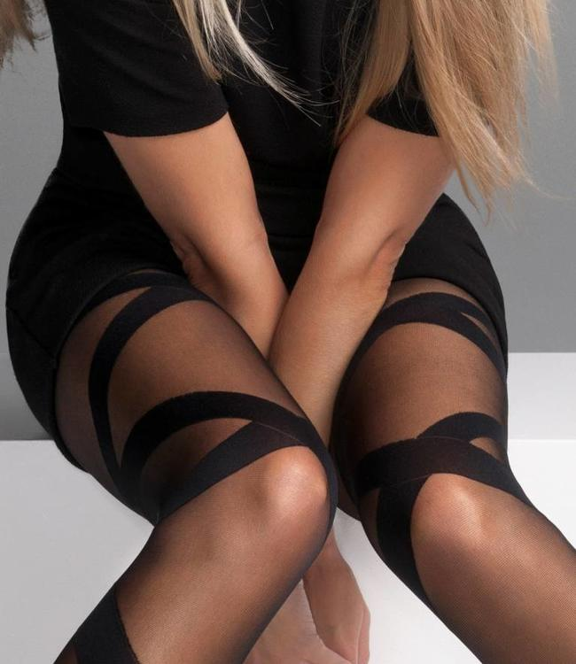 Beautiful Legs Athena 20 panty's Zwart