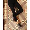 Cotton Slide katoenen leggings Zwart