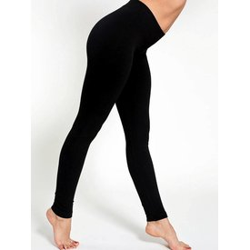 Re-Legs Rose katoenen basic legging Zwart