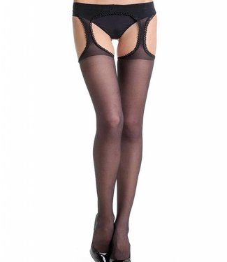 FIORE Amour 20 zwarte strippanty
