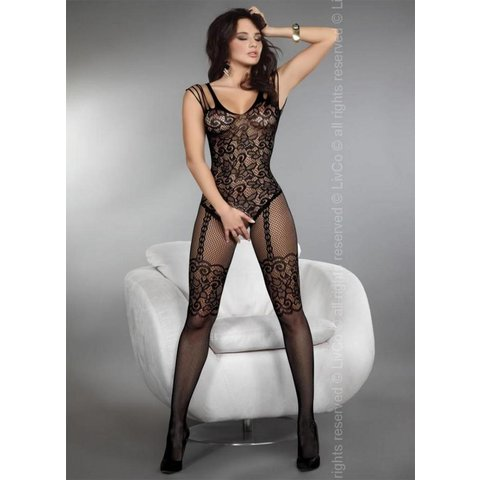 Temperance bodystocking Zwart
