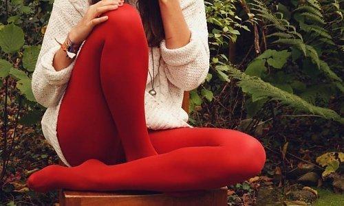 Rode panty