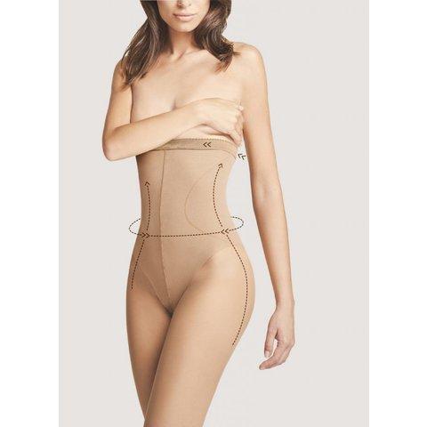 High Waist Bikini 20 panty Huidkleur