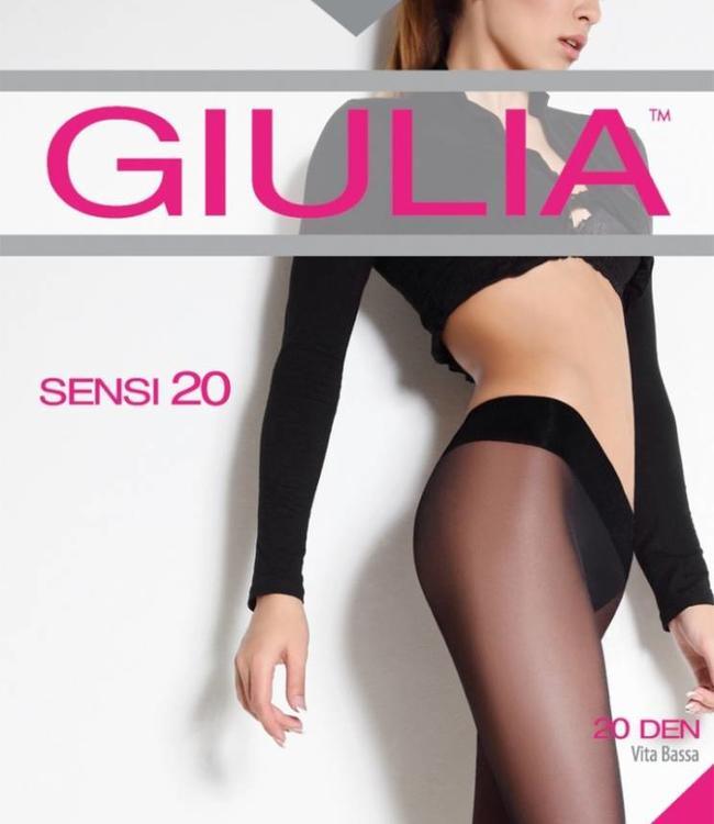 Giulia Sensi 20 heuppanties Zwart