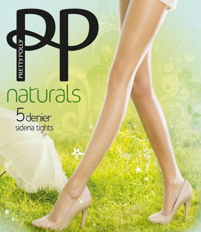 Pretty Polly Naturals Sideria 5 denier panty Huidskleur