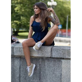 Teckel Teddy Invisible sneakersokken met badstof Zwart | 2 PAAR