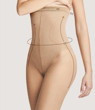 FIORE High Waist Bikini 40 panty Huidkleur