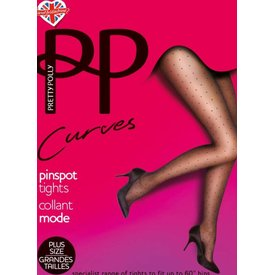 Pretty Polly Pin Dots 20 grote maat stippenpanty
