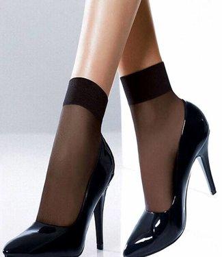Hudson Simply 20 zwarte enkelsokken | 3 PAAR