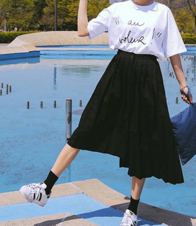 Bonnie Doon Cotton Sock damessokken Zwart