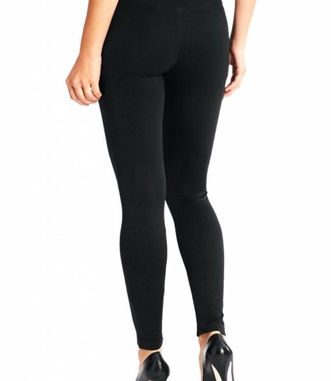 Marianne Cannes 100 zwart enkellegging met naadloos broekje