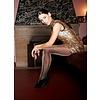 Gold Glitter Love 40 glitterpanty Zwart / Goud