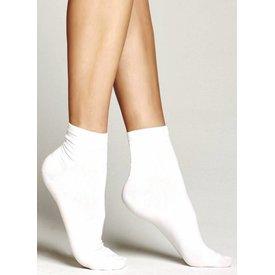 Marcmarcs Cotton Ultra Fine katoenen sokken Wit | 2 PAAR