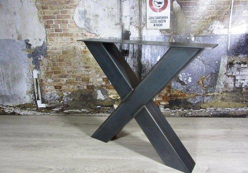 Tafelonderstel X kruispoot Zwaar