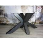 Zware industriële tafelpoten staal kleur