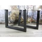 Standaard industriele tafelpoten transparante coating