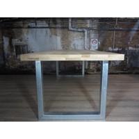 Handgemaakt Industrieel tafelonderstel U tafelpoot standaard- VERZINKT