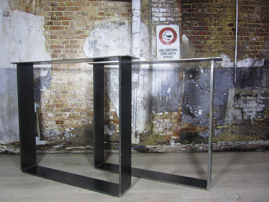 Industrieel Tafel Onderstel : Handgemaakte industriele tafelpoten model i industriele tafels