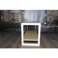 Industrieel TV meubel WIT